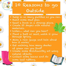 Reasons to be Outside