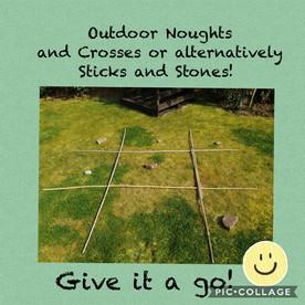 Outdoor Noughts & Crosses