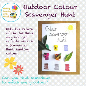Outdoor Colour Scavenger Hunt