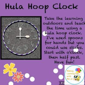 Hoop Clock