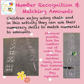 Number Recognition & Matching Amounts