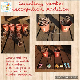 Counting, Number Recognition & Addition