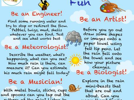 Rainy Day Fun Ideas