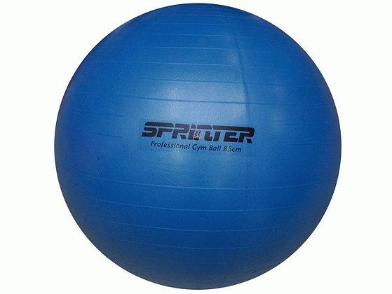 Мяч для фитнеса  (матовый). Диаметр: 85 см. Цвет: голубой: