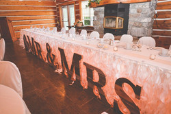 Natalie Wedding Head Table