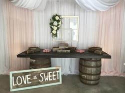 Whiskey Barrel Table Design