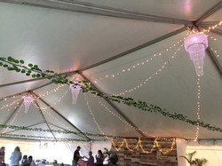 80x60 Tent Mini Light Ceiling Canopy