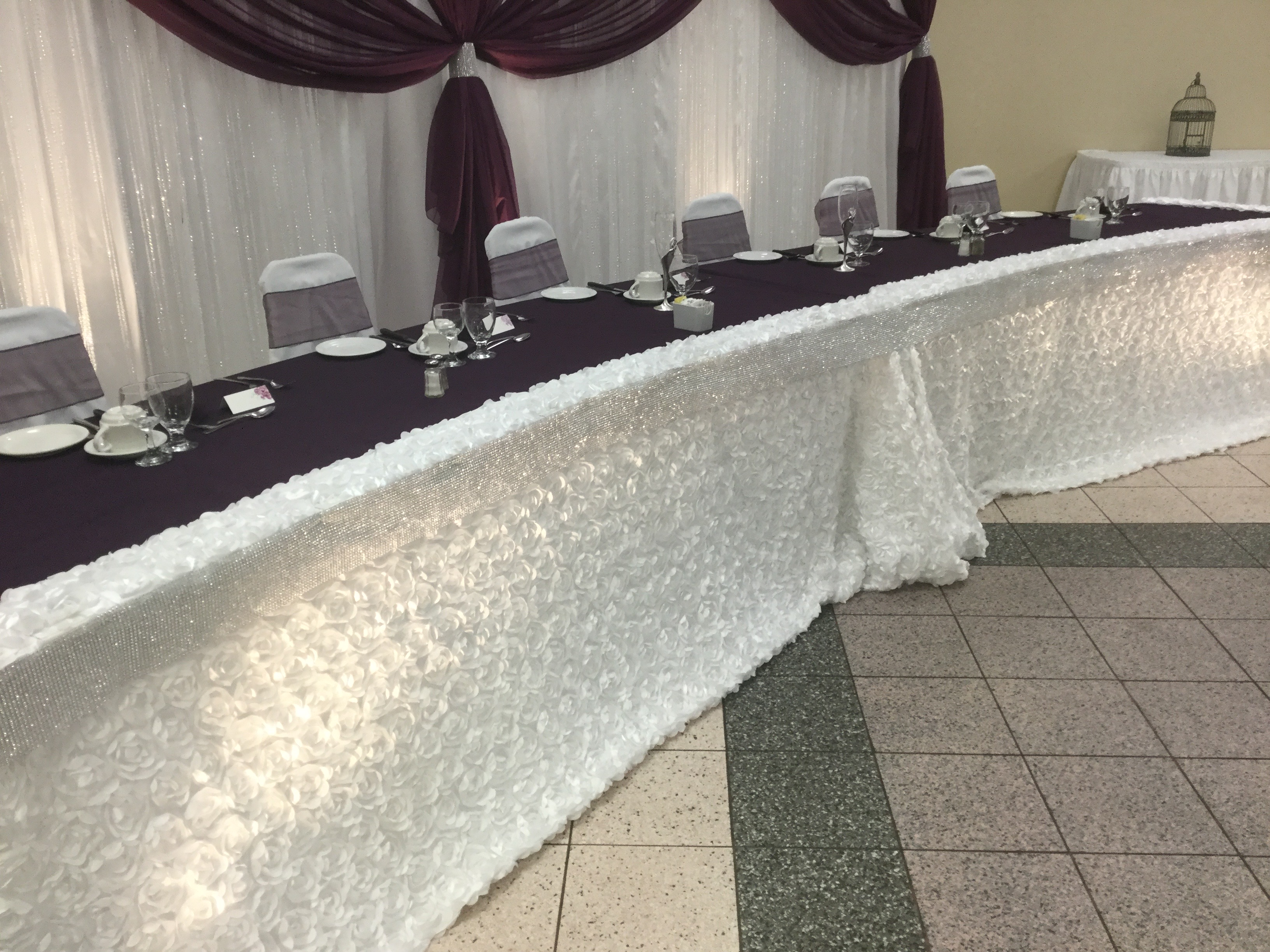 Custom Head Table