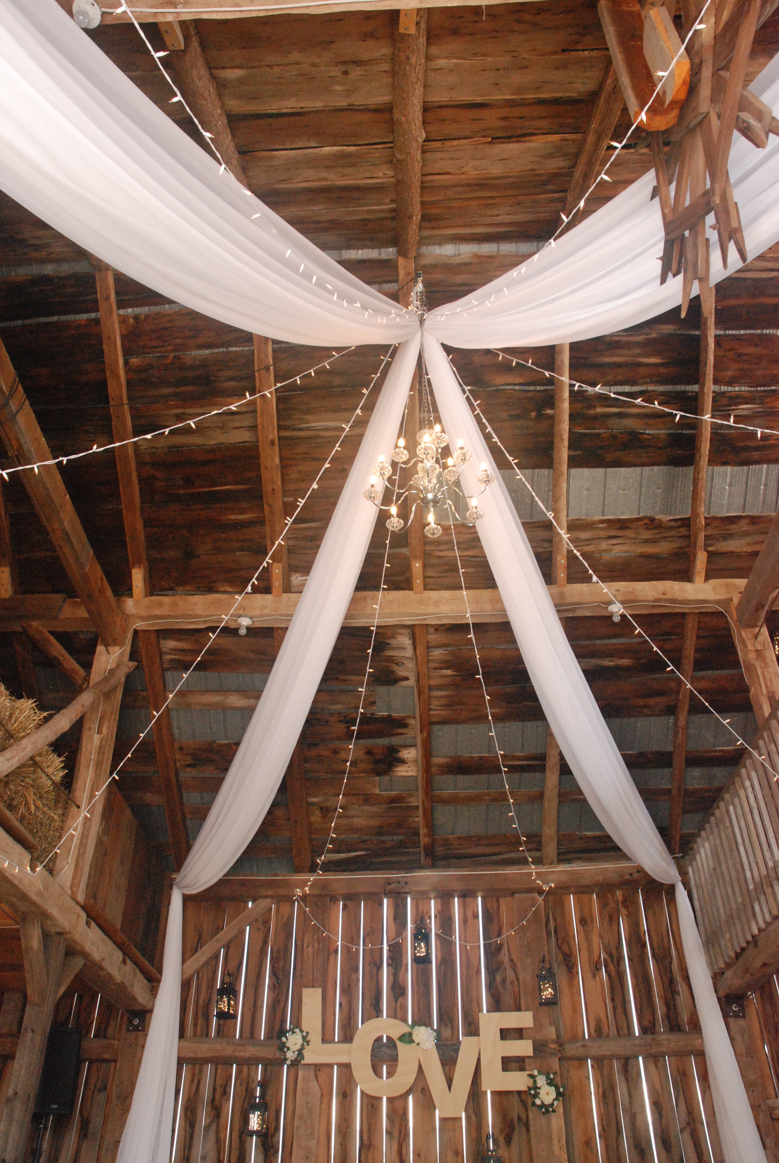 Custom Barn Ceiling Work