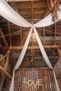 Custom Barn Ceiling Work