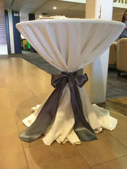 Cruiser Tables Draping