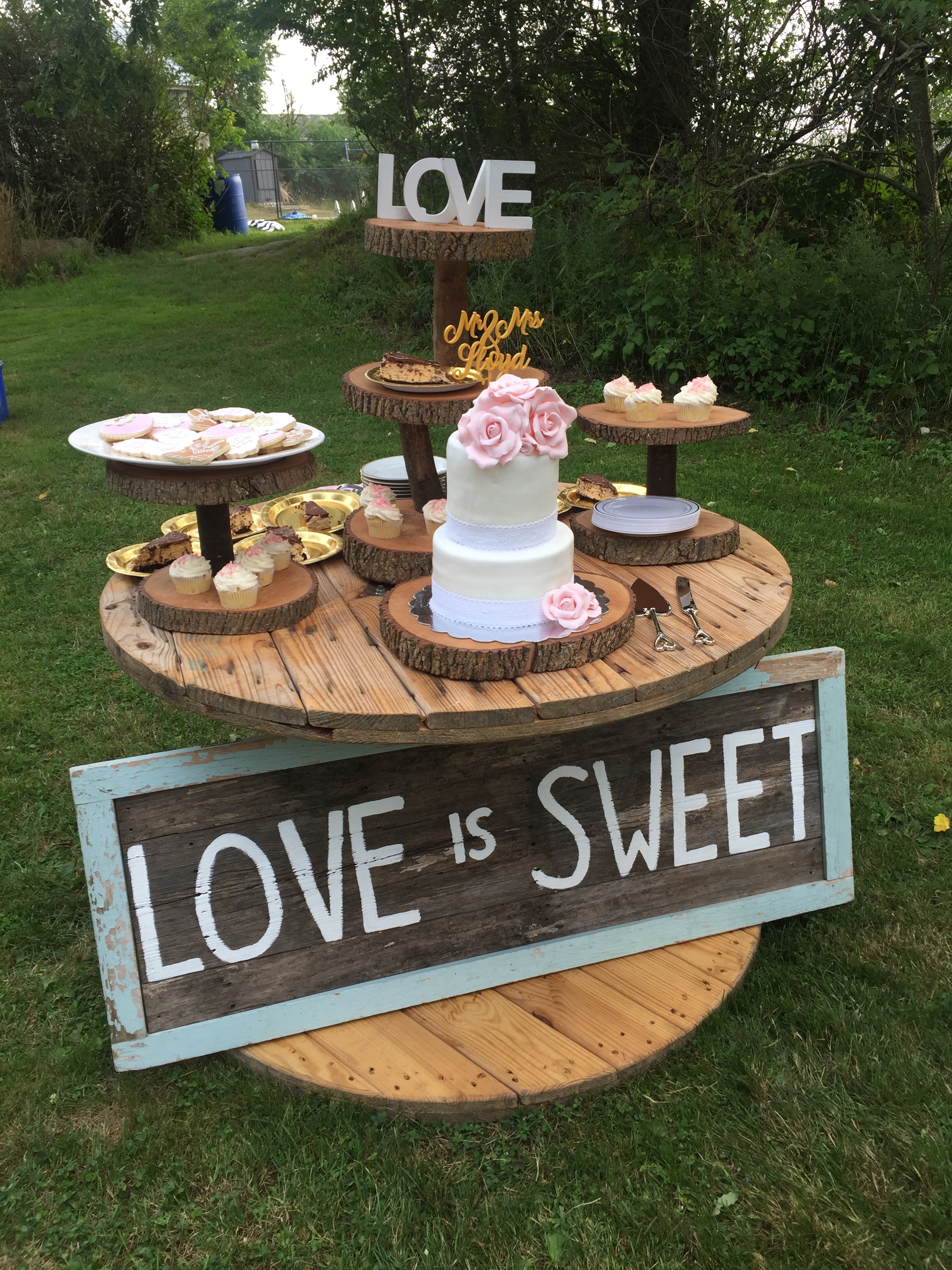 Fun Spool, Cup Cake Tree & Love Is Sweet