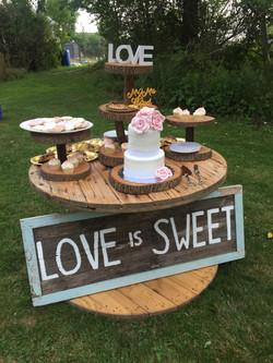 Fun Spool, Cup Cake Tree & Love Is Sweet