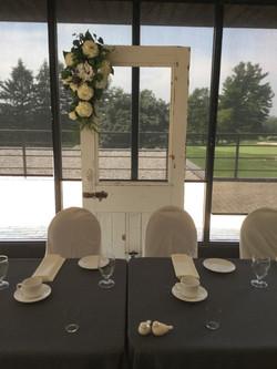 Single Door Backdrop Design