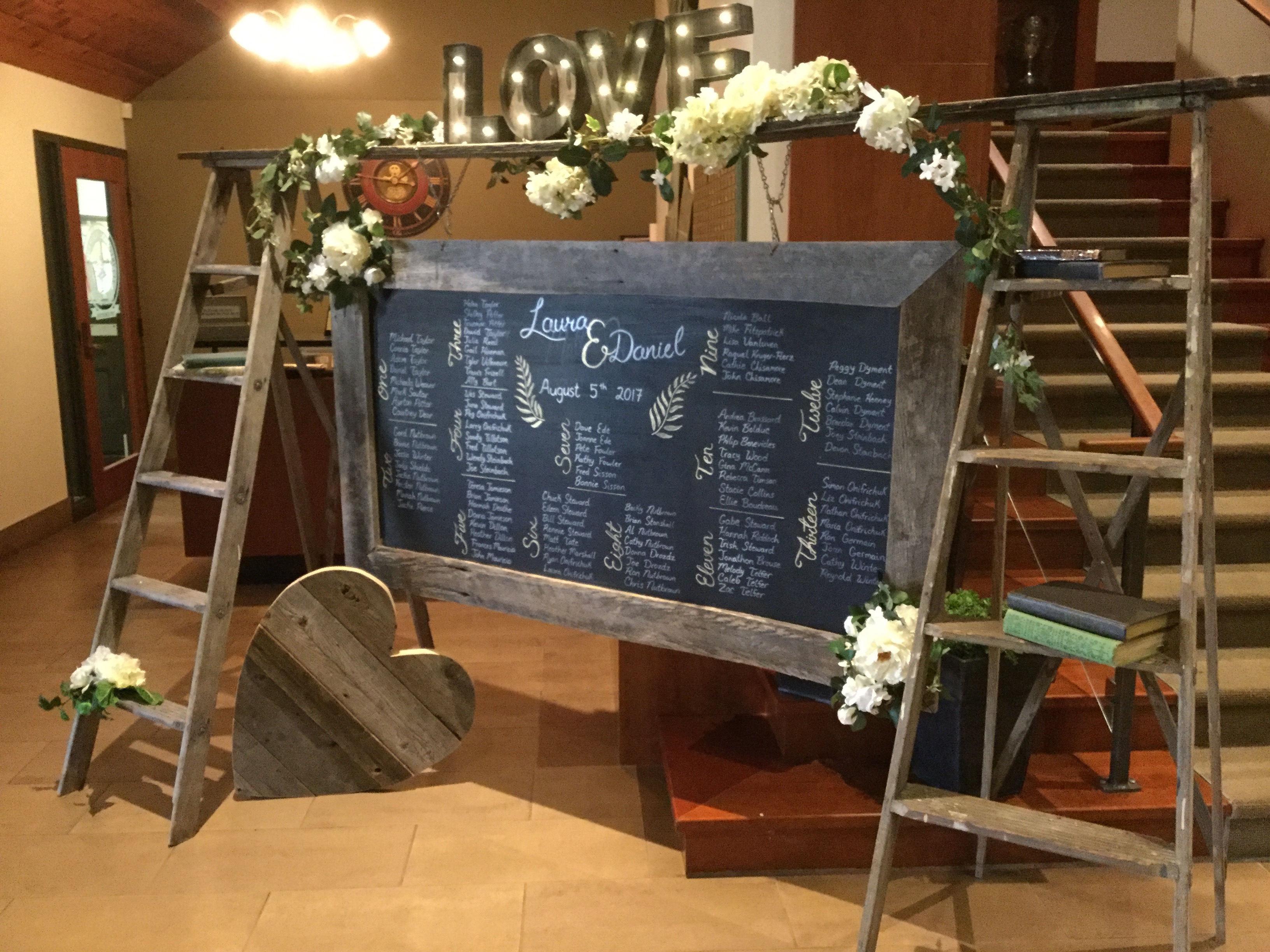 Custom Seating Cart