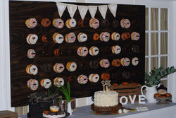 Custom MDS Signature Events donut board.