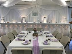White Backdrop Layered Design