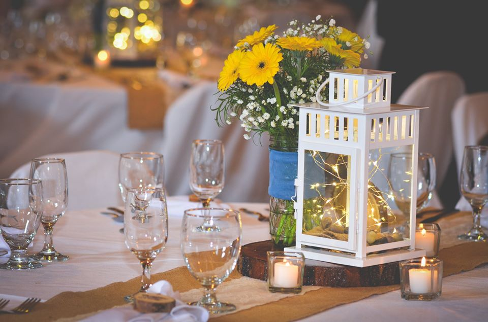 Natalie Wedding Lanterns with fairy ligh