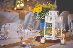 Natalie Wedding Lanterns with fairy ligh