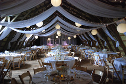 Custom Barn Draping