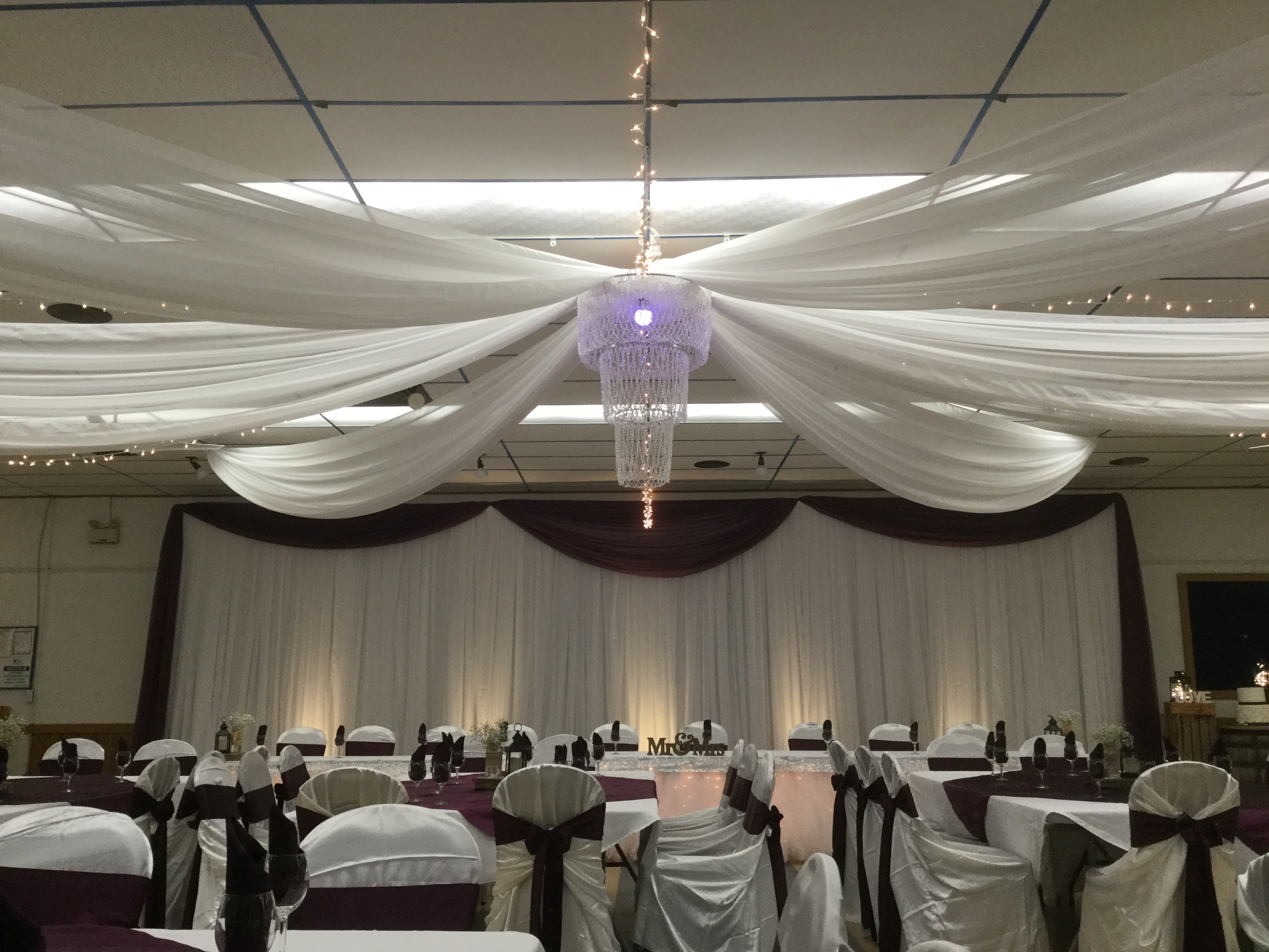 Ceiling Canopy & Backdrop