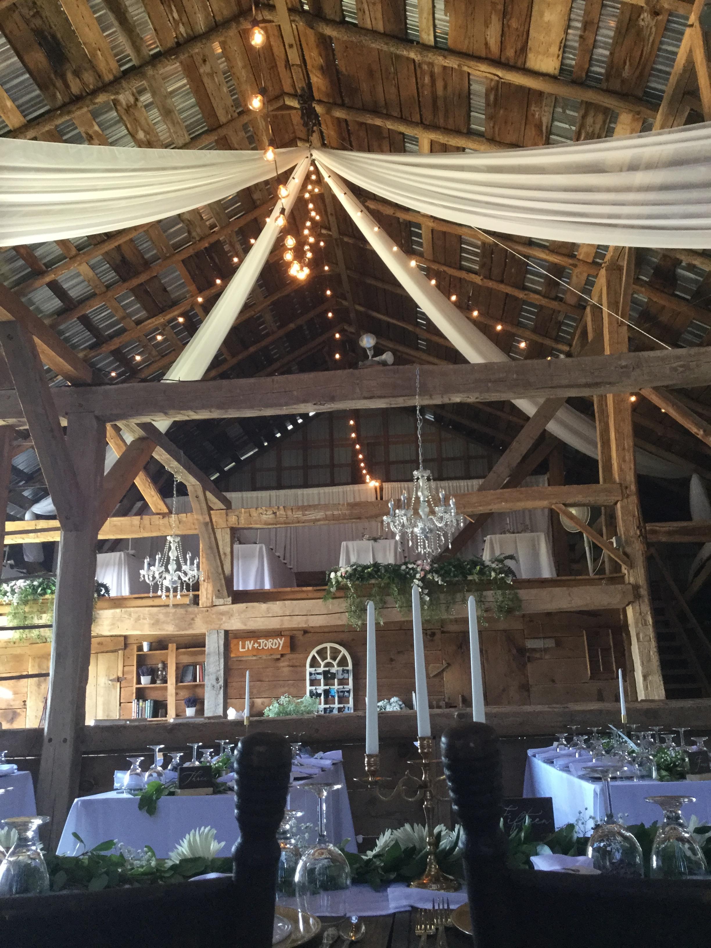 Barn Ceiling Canopy