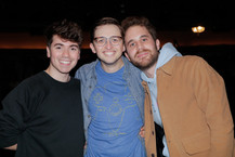 Noah Galvin, Will Connolly, and Ben Platt