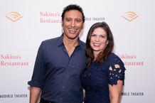 Aasif Mandvi & Kimberly Senior