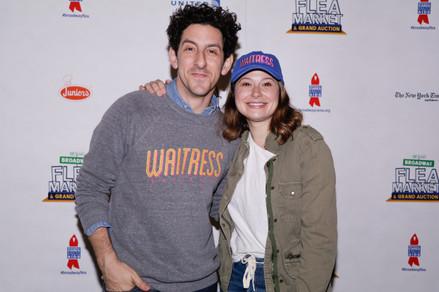 Adam Shapiro and Katie Lowes