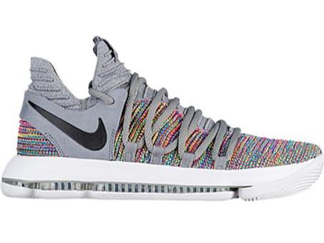 "Nike KD 10 ""Multi-Color"" Releases December 7th"