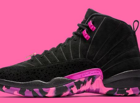 Air Jordan 12Color:Black/Hyper Violet-Pink Blast