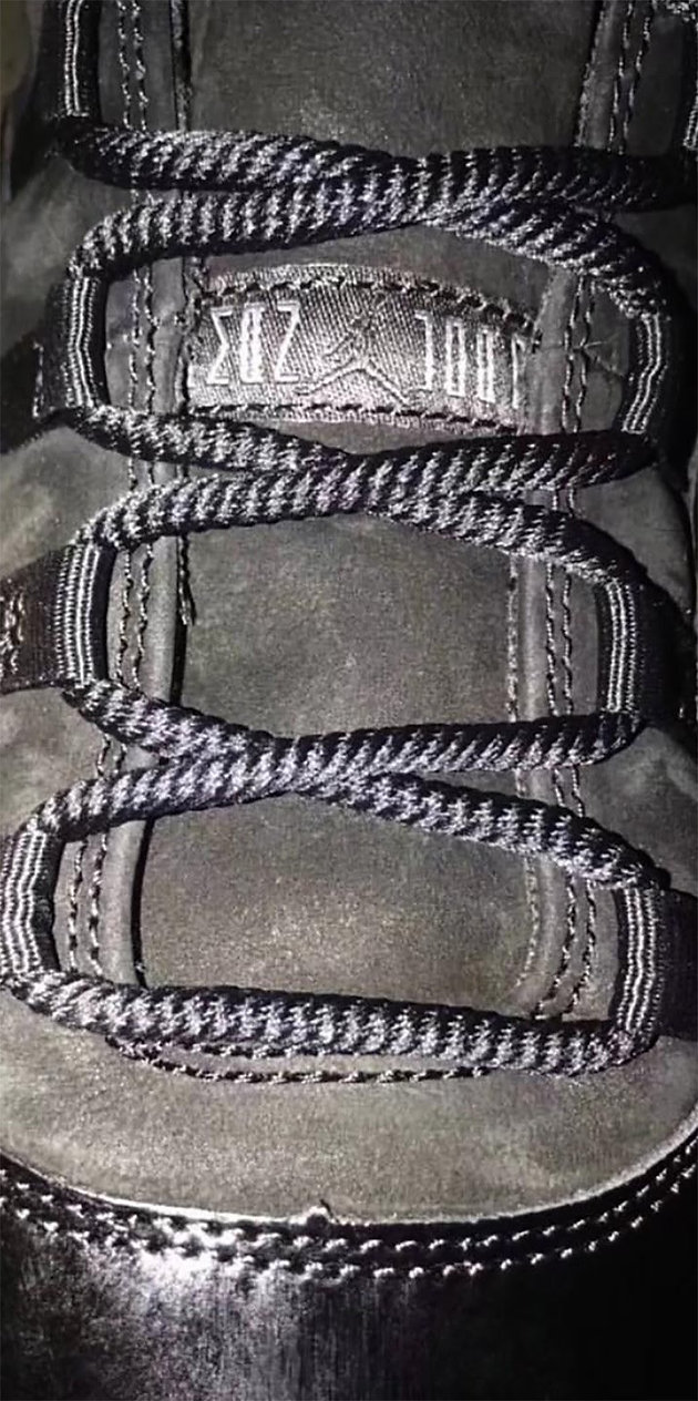"cheap for discount d928f 9cd13 First Look At The Air Jordan 11 ""Prom Night"""