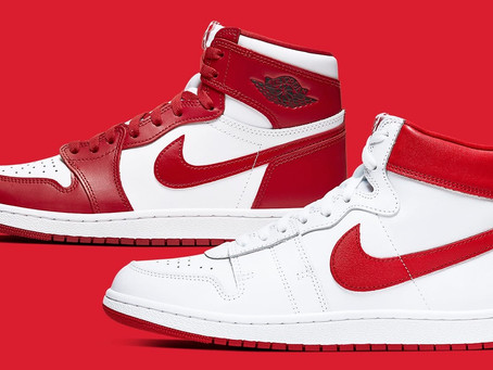 """Official images of the Air Jordan/Nike Air Ship """"New Beginnings"""" Pack, which is currently"""
