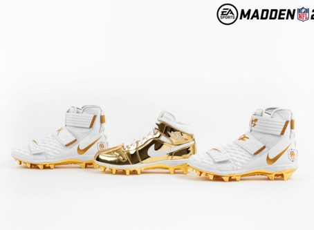 Nike Gifts Custom Cleats Its Newest Madden 99 Club Athletes
