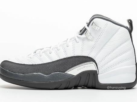 """Official look at the """"Dark Grey"""" Air Jordan 12"""