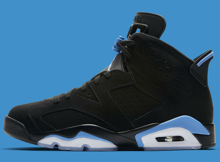 Air Jordan 6 inspired by Michael Jordan's college days.