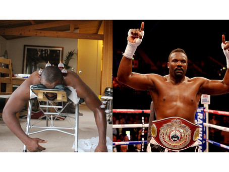 Heavy Weight Boxer Derek Chisora Gets Wet Cupping!
