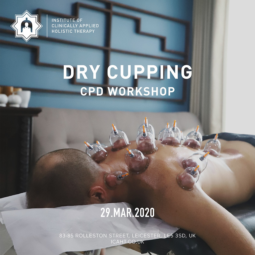 Advanced 1-Day Cupping Masterclass (CPD) – Myofascial Decompression