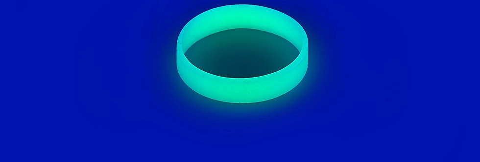 Silikonový náramek svítící ve tmě