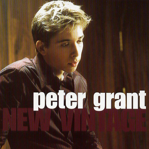 Peter Grant - New Vintage - Signed CD