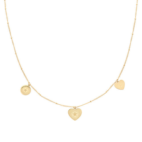 The Heart Coin Necklace