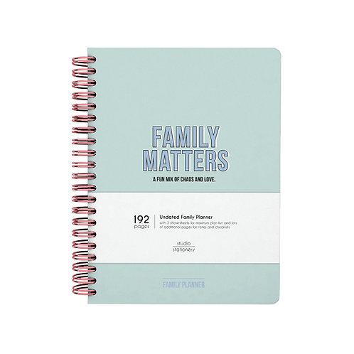 Family planner studio stationary
