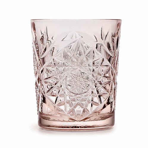 Libbey Roze Hobstar glazen Set van 4 glazen