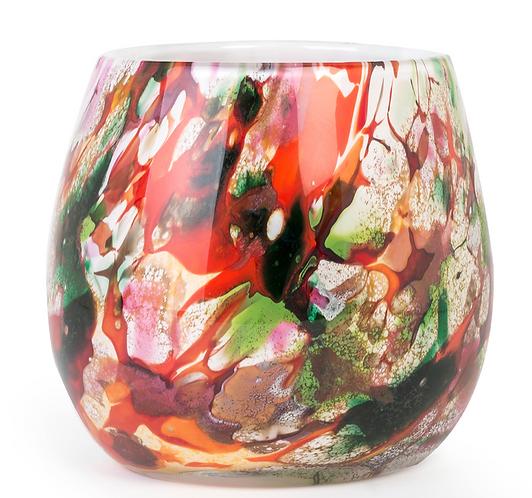 Design vaas mixed colours  Dia22 cm