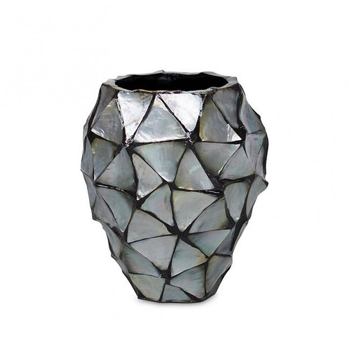 Pot Mother of pearl zilver - Eric Kuster Stijl