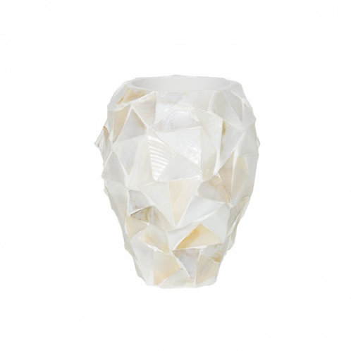 Pot Mother of pearl wit - Eric Kuster Stijl