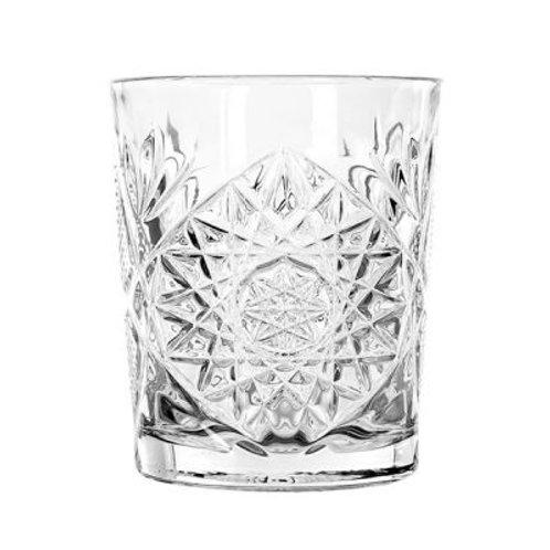Libbey Transparante Hobstar glazen Set van 6 glazen