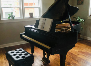 Our Royal Baby Grand Piano