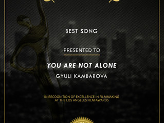Another Award in Los Angeles!