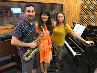"""Recording """"Unchained"""" With Brilliant Musicians"""